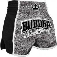 Calções  Muay Thai Buddha  Retro Tattoo