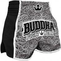Calções  Muay Thai Buddha  Retro Tattoo Kids