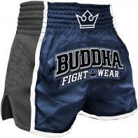 Calções  Muay Thai Buddha  Retro X Azul