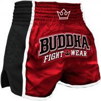 Calções  Muay Thai Buddha  Retro X Vermelho