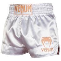 Calções Muay Thai Venum Classic  white / gold