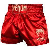 Calções Muay Thai Venum Classic vermelho