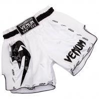Calções Muay Thai Venum Giant Branco / preto