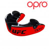 Protetor bucal Opro Silver Red/Black  UFC