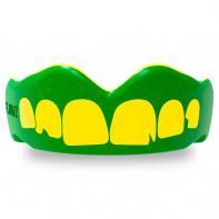 Proteção Dentária SafeJawz Extro Series Self-Fit Ogre Verde amarelo