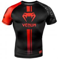Rashguard Venum Logos Noir / rouge