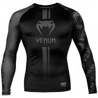 Rashguard Venum Logos l/s preto / preto