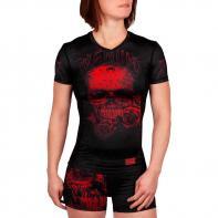 Rashguard Venum Ladies Santa Muerte 3.0 black/red