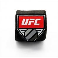 Ligaduras de boxe UFC preto 4,5 m