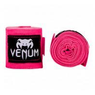LIgaduras de boxe Venum  2,5m Neo Pink