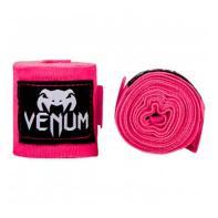 LIgaduras de boxe Venum 4m Neo Pink
