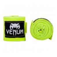 LIgaduras de boxe Venum 4m Neo Yellow